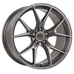 STR Racing Wheels STR 907 - Shiny Gun Metal Rim