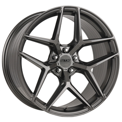 STR Racing Wheels STR 908 - Shiny Gun Metal Rim