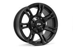 Scale 4x4 Wheels 7077 Buckshot - Matte Black Rim