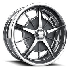 Schott Wheels Split-Window (Std Profile) - Custom Finish Rim