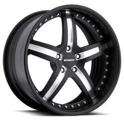 Schott Wheels Daytona - Custom Finish Rim - 22x12.5