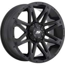 Sendel Wheels S35 Recon - Matte Black w/ Black Bolt