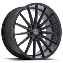 Sporza Wheels Pentagon - Satin Black Rim - 22x10.5
