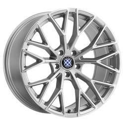 Beyern Wheels Antler - Silver W/Mirror Cut Face - 22x11