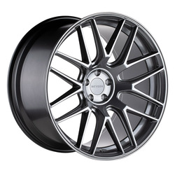 Beyern Wheels Autobahn - Gloss Gunmetal Rim - 18x8.5
