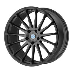 Beyern Wheels Aviatic - Matte Gunmetal W/Gloss Black Lip Rim