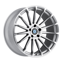 Beyern Wheels Aviatic - Silver W/Mirror Cut Face - 19x8.5