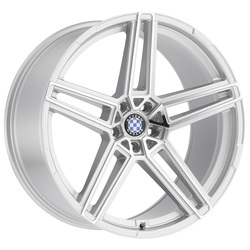 Beyern Wheels Gerade - Silver W/Mirror Cut Face Rim - 22x10.5