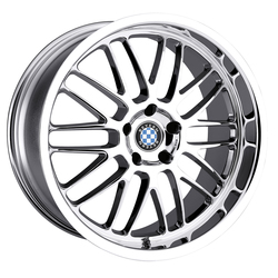 Beyern Wheels Mesh - Chrome Rim