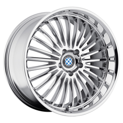 Beyern Wheels Multi - Chrome Rim - 22x11