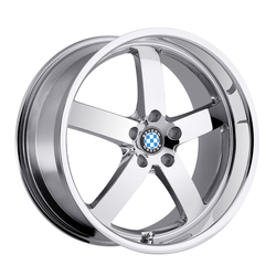 Beyern Wheels Rapp - Chrome Rim - 22x10.5