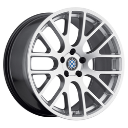 Beyern Wheels Spartan - Hyper Silver Rim - 18x8.5