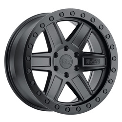 Black Rhino Wheels Attica - Matte Black with Black Bolts