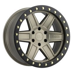 Black Rhino Wheels Attica - Matte Bronze with Black Lip Edge