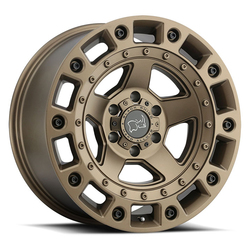 Black Rhino Wheels Cinco - Bronze with Black Bolts Rim - 18x9.5