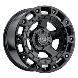 Black Rhino Wheels Cinco - Gloss Black with Stainless Bolt