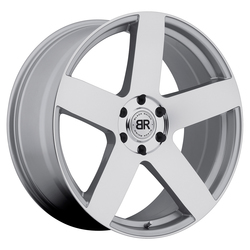 Black Rhino Wheels Everest - Silver with Mirror Cut Face Rim - 24x10