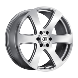 Black Rhino Wheels Haka - Silver with Machine Face Rim - 22x9.5