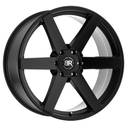 Black Rhino Wheels Karoo - Matte Black - 24x10