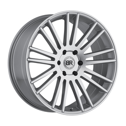Black Rhino Wheels Kruger - Silver with Mirror Cut Face Rim - 24x10