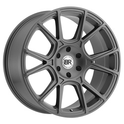 Black Rhino Wheels Mala - Matte Gunmetal - 24x10