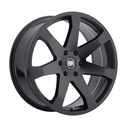 Black Rhino Wheels Mozambique - Matte Black - 24x10