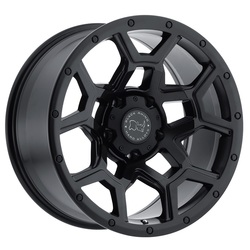 Black Rhino Wheels Overland - Matte Black - 20x9.5
