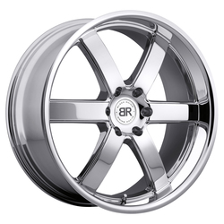 Black Rhino Wheels Pondora - Chrome Rim - 24x10