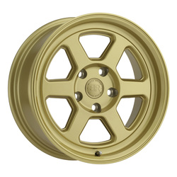 Black Rhino Wheels Rumble - Gloss Gold Rim - 15x7
