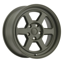 Black Rhino Wheels Rumble - Olive Drab Green Rim - 15x7