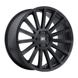 Black Rhino Wheels Spear - Matte Black - 24x10