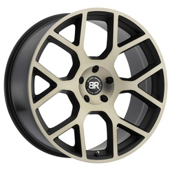 Black Rhino Wheels Tembe - Matte Black with Machined Face & Dark Matte Tint - 24x10