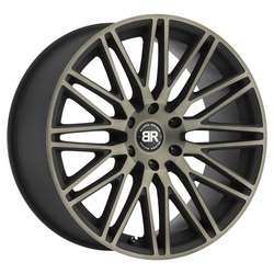 Black Rhino Wheels Zulu - Matte Black with Machine Face & Dark Matte Tint Rim - 22x10
