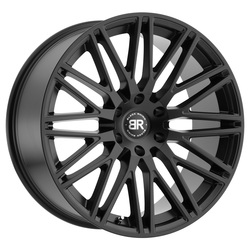 Black Rhino Wheels Zulu - Matte Black - 24x10