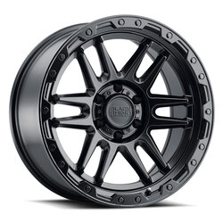 Black Rhino Wheels Apache - Matte Black W/Black Bolts Rim - 17x8.5