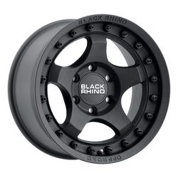 Black Rhino Wheels Bantam - Matte Textured Black - 16x8