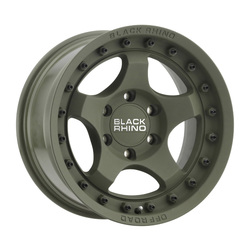 Black Rhino Wheels Bantam - Matte Olive Green - 16x8