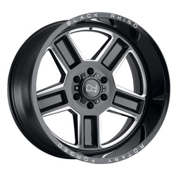 Black Rhino Wheels Canon - Gloss Black / Milled Rim