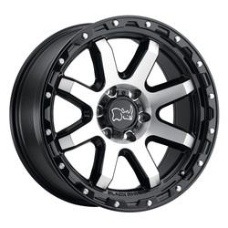 Black Rhino Wheels Coyote - Gloss Black / Machined Face Rim