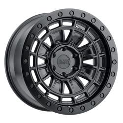 Black Rhino Wheels Dalton - Matte Black Rim - 17x9.5