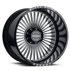 Black Rhino Wheels Horus - Gloss Black W/Milled Spokes Rim - 24x14