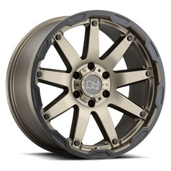 Black Rhino Wheels Oceano - Matte Bronze W/Black Lip Edge Rim - 20x9.5