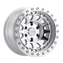 Black Rhino Wheels Primm - Silver W/Mirror Face & Lip Edge