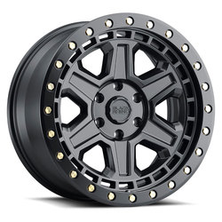 Black Rhino Wheels Reno - Matte Black / Brass Bolts Rim - 20x9.5