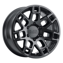 Black Rhino Wheels Ridge - Matte Black Rim - 18x9