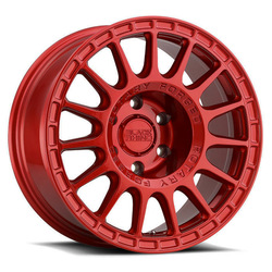 Black Rhino Wheels Sandstorm - Candy Red Rim - 15x7