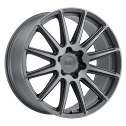 Black Rhino Wheels Waza - Brushed Gunmetal Rim - 22x10.5