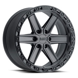 Black Rhino Wheels Henderson - Gunblack / Black Lip Edge & Bolts Rim - 20x9.5