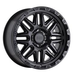 Black Rhino Wheels Alamo - Matte Black W/Black Bolts Rim