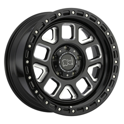 Black Rhino Wheels Alpine - Gloss Black with Milled Spokes